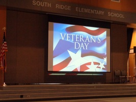 Ridgefield School Celebrations Commemorate Veterans Day