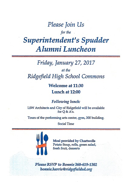 District Hosts Superintendent's Spudder Alumni Luncheon